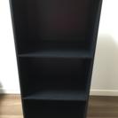 ボックス 黒 三段