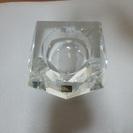 【値下げ】クリスタル灰皿(未使用品)