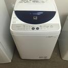2013年春購入SHARP全自動洗濯機 乾燥機能付き 4.5kg 美品