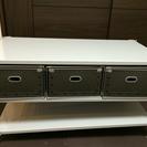 【無印良品】テレビ台+硬質パルプボックス