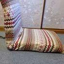 【美品】NITORI 座椅子のカバーセット 1つ