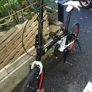 フェラーリ 折りたたみ自転車