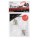 【 オーム電機 06-2587 オーム電機 ミニクリプトン電球 E...
