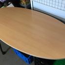 楕円形ガッチリテーブル