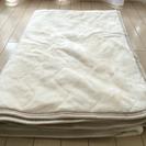 敷きパッドマイクロ15ニトリ☆冬用ダブルサイズ美品