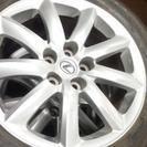レクサス タイヤホイール ナット付き 235/50R18 ブリジス...
