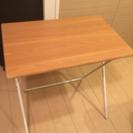 ニトリ 折りたたみテーブル 白