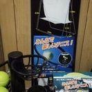 【価格改定】テニス練習用ネット&練習用マシン