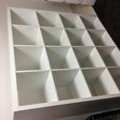 交渉中 IKEA シェルフ ホワイト4×4