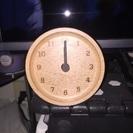 置き時計 木製