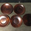 木製 茶托