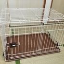 【美品】小型犬用 ペットケージ(ゲージ)