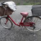 子供乗せ自転車。