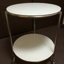 【値下げ】IKEAガラスサイドテーブル