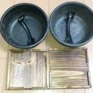 鉄焼きピビンバ トング 敷板