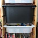 <値下げ‼‼>IKEA 子供用おもちゃ入れ収納家具・ボックス付
