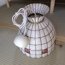 可愛い貝の照明器具
