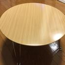 円形折りたたみテーブル
