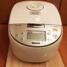 パナソニック ナショナル IH炊飯器(5.5合炊き) SR-HS101