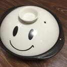 顔つき土鍋