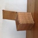キューブ型 藤製収納BOX