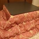 ★交渉中★ 8月29日まで かわいいピンク布団のこたつテーブル