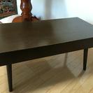 引き出し付き ローテーブル