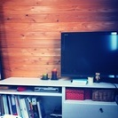 イケアのテレビ台と北欧風コーヒーテーブル