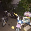 子供用三輪車!