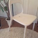 値下げ!IKEAの白い椅子
