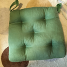 緑の座布団