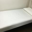 無印 新品同様 シングルベッド
