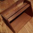 木製のスタンド