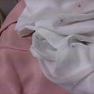 遮光カーテン・小花柄レースカーテン