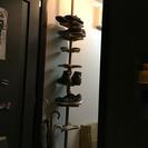 靴置き ドリームハンガー シューズタワー 突っ張り