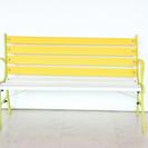 【渋谷区】黄色いベンチ【手渡し】