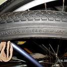 未使用タイヤチューブ付24インチ残4