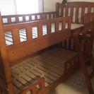 ☆木製の2段ベッド☆
