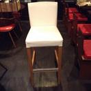 ★☆新小岩手渡し限定!カフェバーの白いハイスツール(椅子)