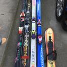 スキー板 5組