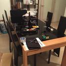 ダイニングテーブル椅子6脚セット