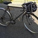 レトロなサイクリング車