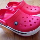 キッズサイズのクロックス Crocs です。