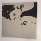 【お値下げ中】 壁掛けアート オードリーヘプバーン IKEA