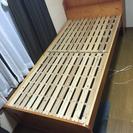 ベッド 木製組み立て式