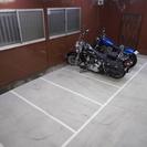 大切なバイクをお預かりいたします。月極レンタルガレージ・空室あります。