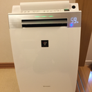 美品 シャープ プラズマクラスター搭載 加湿空気清浄機 KI-EX55
