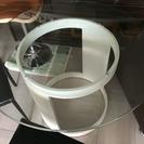 【お値下げ】ガラスダイニングテーブルセット