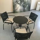イケア  IKEA  ベランダ  テーブル  チェア