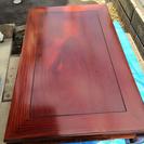 ゆったり大きめローテーブル 茶色